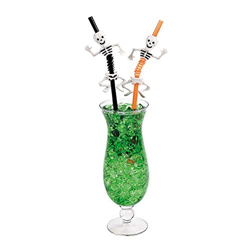 Halloween Skeleton Straws - Party and Events