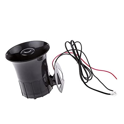 Jili Online 50W Car Truck Air Horn Siren Speaker 6 Sound Tone Clear Loud PA Microphone