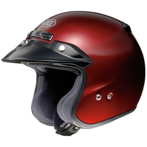 Shoei Metallic RJ-Platinum R Cruiser Motorcycle Helmet - Wine Red/Large