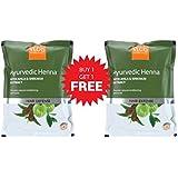 Vlcc Natural Sciences Ayurvedic Henna With Amla & Shikakai Extract Hair Defense (100G) (Pack Of 2)