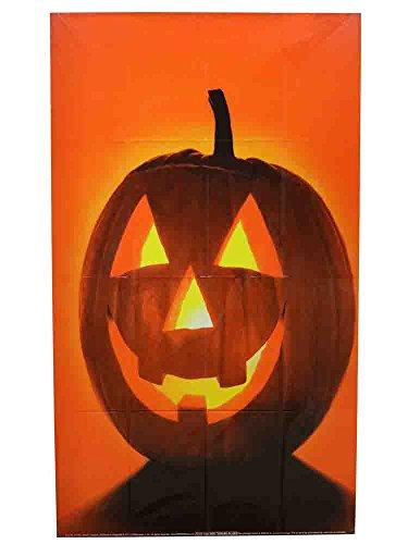 7 Halloween Spooky Décor Jack O'Lantern Poster for The Window -