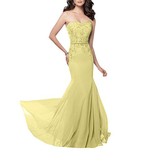 Kleider Abendkleider Langes Partykleider Perlen Glamour Standsamt La ...