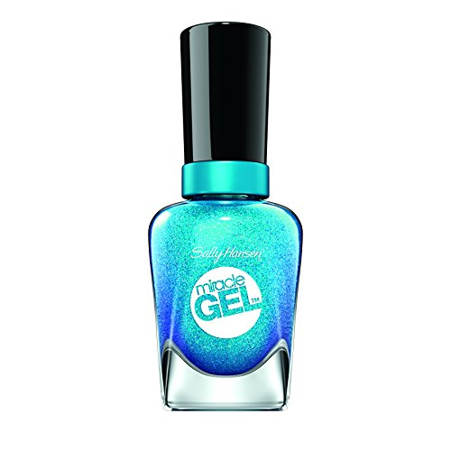 Sally Hansen Miracle Gel Nail Polish, Flash-Ionista, 0.5 Ounce