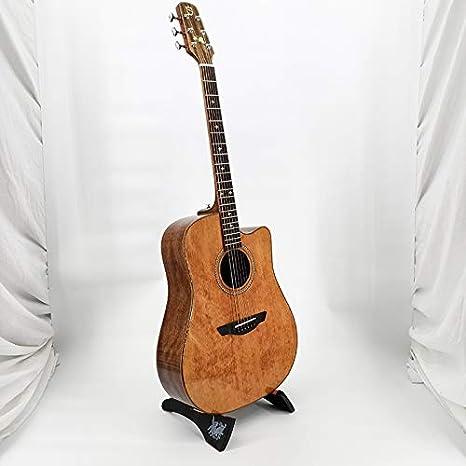 HVTKL Guitarra Guitarra Popular Abeto Chapa de 41 Pulgadas ...