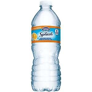 Nestle(R) Pure Life(R) Splash, Mandarin Orange, 16.9 Oz. Bottles, Case Of 24 Bottles