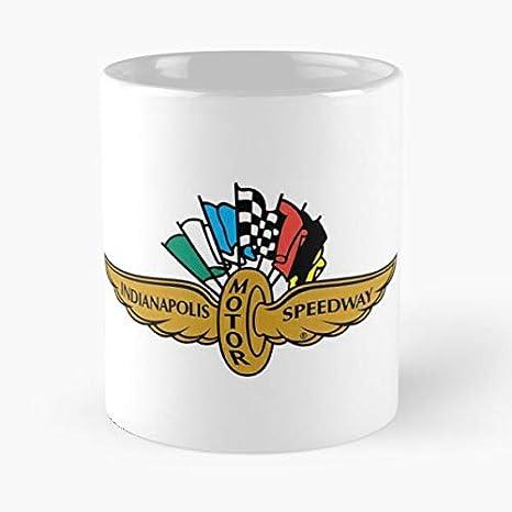 Indy Ims Racing Speedway 500 Car Amiga Motor Indycar Indianapolis Best 11 oz Kaffeebecher - Taza de café de regalo de moda superventas negra, blanca, cambia de color 11 onzas, 15 onzas para todos