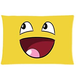 Always Smile Pillowcase Standard Pillow Cover 20x30 (one side)