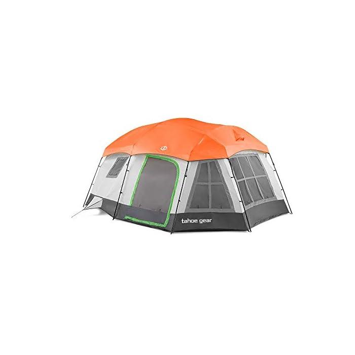 Tahoe Gear Ozark 3-Season 16 Person Tent
