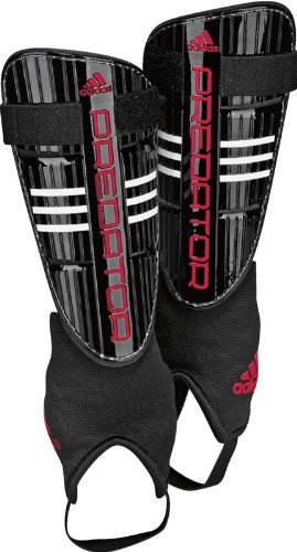 adidas PREDATOR Repliqué Shin Guard, Black/White/Predator Red, Large