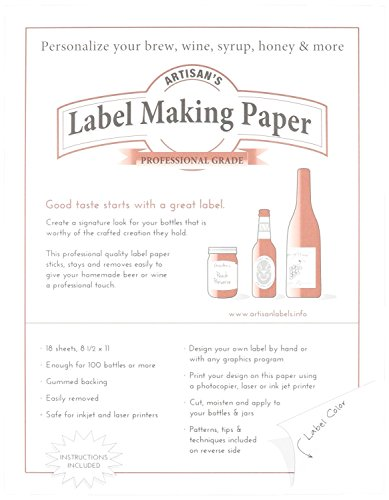 Label Making Paper, White