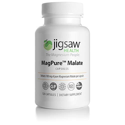 MagPure - Jigsaw Health - Premium Magnesium Malate Capsules - 120 ct