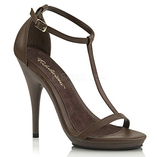 Fabulicious Women's Poise-526 T-Strap Sandal ()