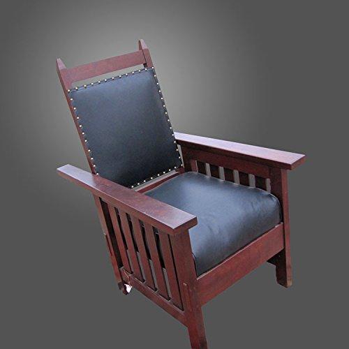 Antique ARTS & CRAFTS Morris Chair (Stickley Era) f882 ()