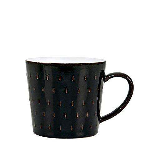 - Denby  Jet Cascade Mug, Black