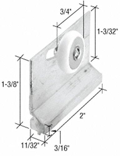 M6157 Sliding Shower Roller Bracket