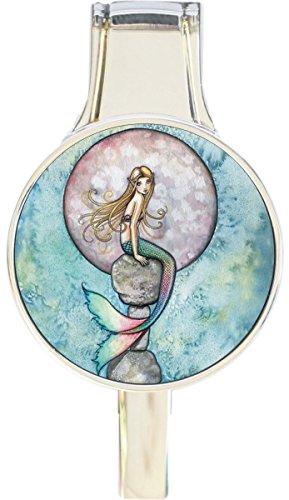 Mermaid Full Moon Everything Purse Hanger Handbag Hook Retractable Folding - New Folding Handbag Purse