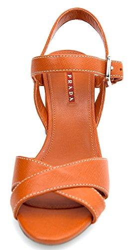 Pelle Sandalo Papaya Art Scarpa Wsreq68 Prada Donna Arancione 3xp003 PkZiuX