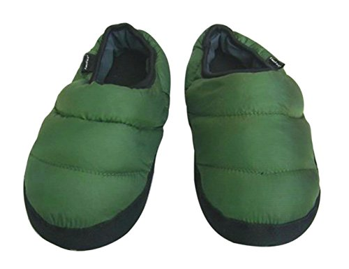 Boots Quilted Slippers Winter Army Fakeface Womens Mens Green Indoor Ankle Down 6Z7qUC