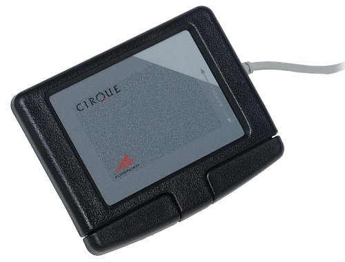 Adesso Easy Cat 2 Button Glidepoint Touchpad (Black)