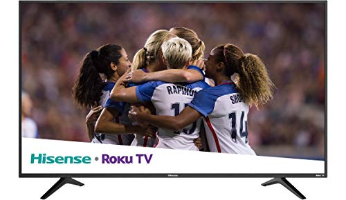"Hisense 55R6E 2018 Model Roku TV 55"" Class R6E (54.6"" diag.) 4K UHD TV with HDR (Certified refurbished)"
