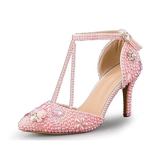 db7ec7011e623 Chic Minitoo MinitooEU-MZ8289 - Zapatos de Vestir de Material Sintético  Para Mujer