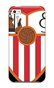 Premium Sevilla Fc Logo Back Cover Snap On Case For Iphone 5c