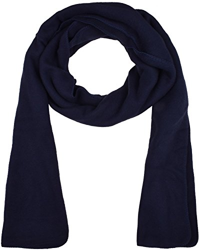 Soft Navy Neck Scarf Warm Scarves for Winter Outdoor Skiing Navy Blue - Shopping Uk Websites Good