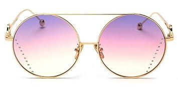 Gafas De Sol Decoración De Cristal Redonda Moda Gafas De ...