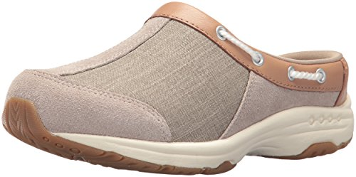 Easy Spirit Women's Travelport Mule, Natural, 6.5 M US by Easy Spirit