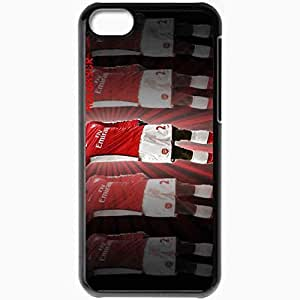 Personalized iPhone 5C Cell phone Case/Cover Skin Adebayor The General Scottish Premier League 0809 Emmanuel Sheyi Adebayor Arsenal Football Black