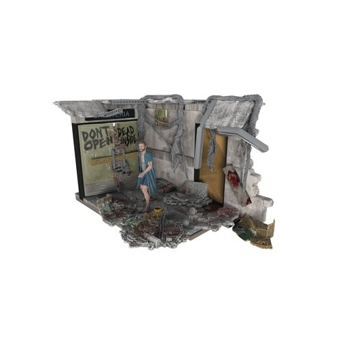 McFarlane Toys Construction Sets, The Walking Dead TV Hospital Doors, Play Set (Tv Shows Similar To The Walking Dead)