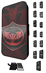 522 - Game of Thrones Sigil House Targaryen Symbol Emblem Design Fashion Trend Credit Card Holder Purse Wallet Book Style Tpu Leather Flip Pouch Case Samsung Galaxy Note 4