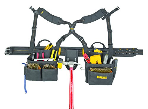 Dewalt 6 Each DG5641 19-pocket Framer's Combo Apron with Sus