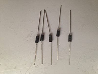 FAIRCHILD SEMICONDUCTOR 1N4001 DIODE, STANDARD, 1A, 50V, DO-41 (5 pieces)