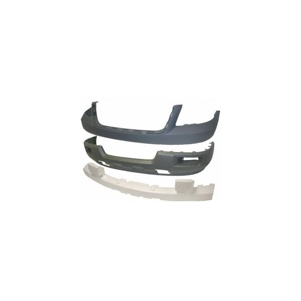 03 FORD EXPEDITION FRONT BUMPER COVER SUV, Platinum, XLT Model, w/ Absorber (2003 03) F010330 2L1Z17D957KAA