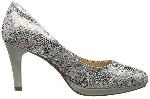 Caprice 22414, Zapatos de Tacón para Mujer Blanco (Offwht Rept.mu)