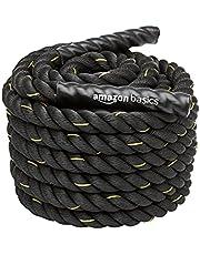 AmazonBasics 1.5in Battle Exercise Training Rope, 50ft