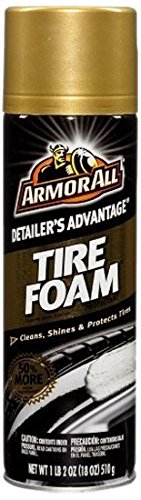 Armor All 78107-12PK Detailers Advantage Tire Foam Protectant, 18 oz, 12 Pack (Armor All Ingredients)