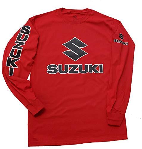 Hobbynica Suzuki Motorcycles Racing Bikes - Suzuki Motocross - Suzuki GSX-R - Long Sleeve Shirt S-5X (XL) ()