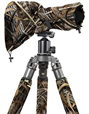 LensCoat Camouflage Camera Lens Rain Water Cover Sleeve Protection Raincoat RS Medium, Realtree Max5 (lcrsmm5)