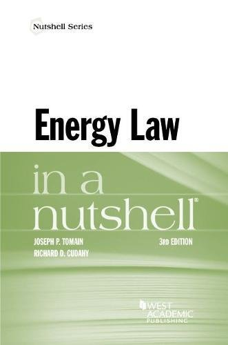 Energy Law in a Nutshell (Nutshells) PDF