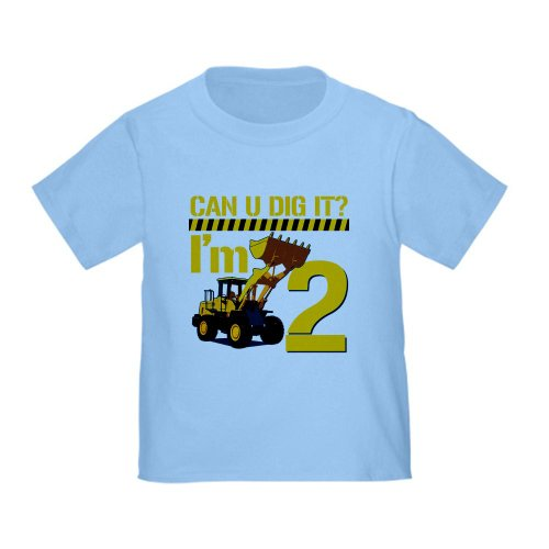 CafePress - Can You Dig It? Im 2 T-Shirt - Cute Toddler T-Shirt, 100% Cotton (Can U Dig It compare prices)