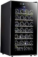 HUATINGRHHO Silencioso Vinoteca de 28 Botellas Nevera para Vinos con Compresor