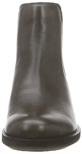 ECCO warm Saunter Grey 1375 Donna Grigio Stivaletti 1rrfwqI