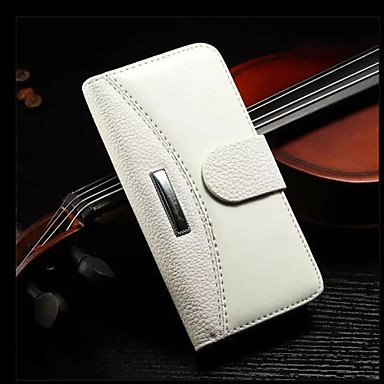 Fundas y estuches para teléfonos móviles, Caja de lujo genuina billetera de cuero con los titulares de tarjetas para el iphone 6 / 6s (colores surtidos) ( Color : Rojo , Modelos Compatibles : IPhone 7 Blanco