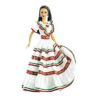 Festivals of the World: Cinco De Mayo Barbie Doll: Toys & Games