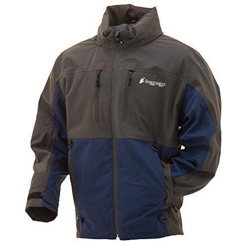 - Frogg Toggs PF63160-7722XL Pilot Frogg Guide Jacket Dust Blue/Slate X Large