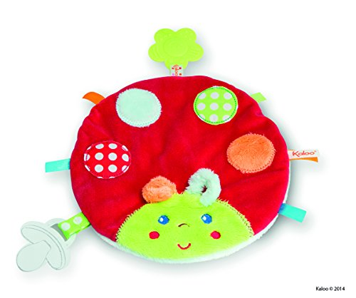 Kaloo Colors Activity Toys My Sweet Ladybug Doudou (Toy Doudou Soft)