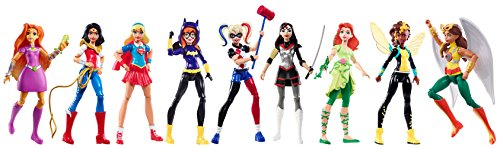 (DC Super Hero Girls Action Figure (9)