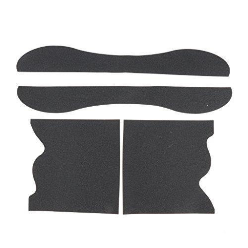 Fenteer ロングボード サンドペーパー 通気性 グリップテープ ロングボードデッキ ステッカー スケートボードギア 全4選択